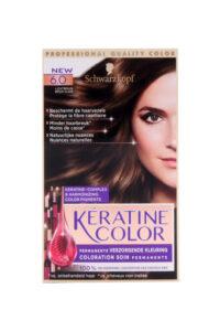 Keratine Color Haarverf 6.0 Lichtbruin