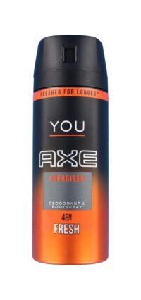 Axe Deodorant Energised You, 150 ml