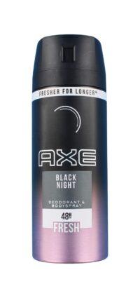 Axe Deodorant Black Night, 150 ml