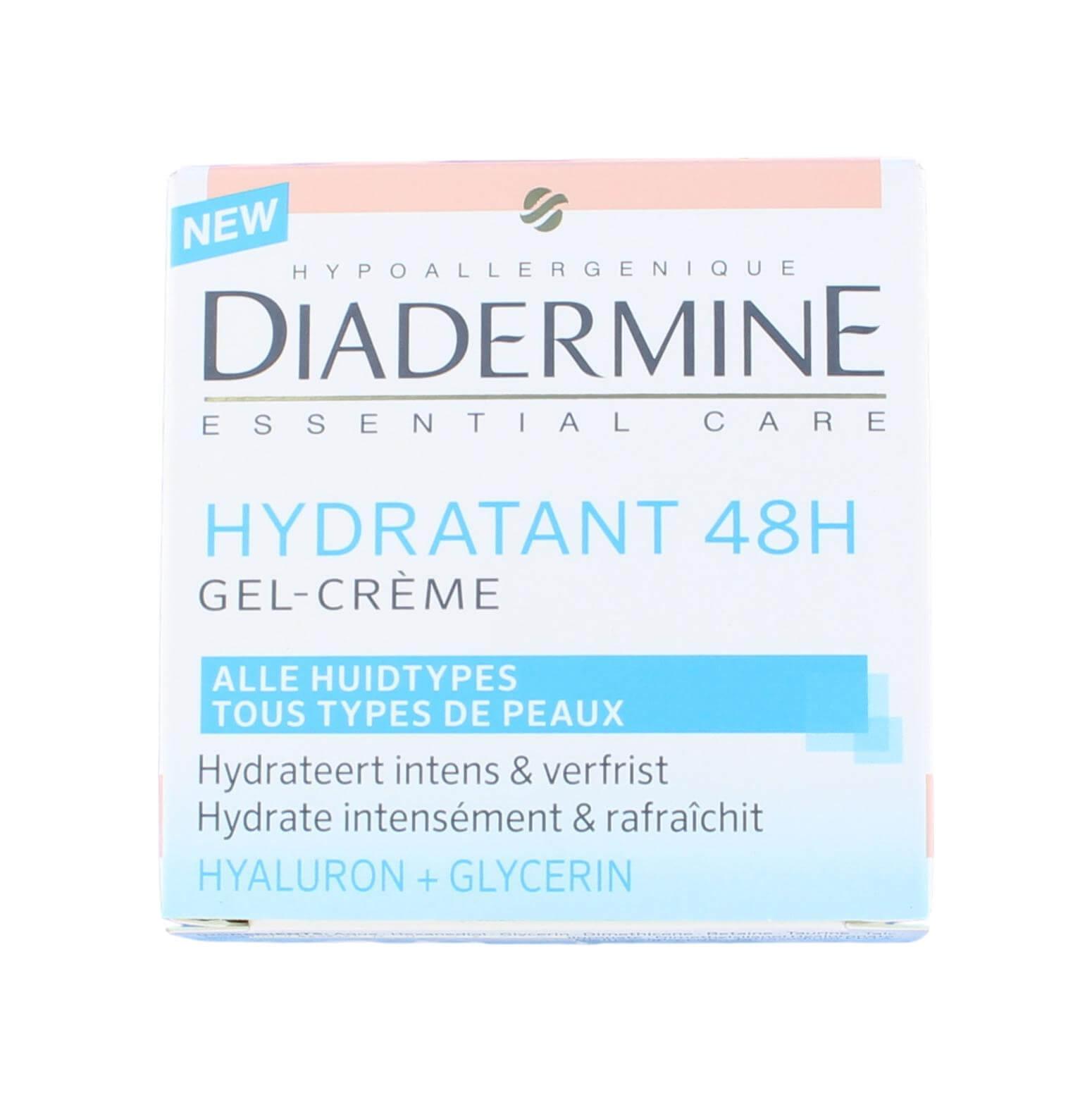 Diadermine Dagcreme Hydratant 48H, 50 ml