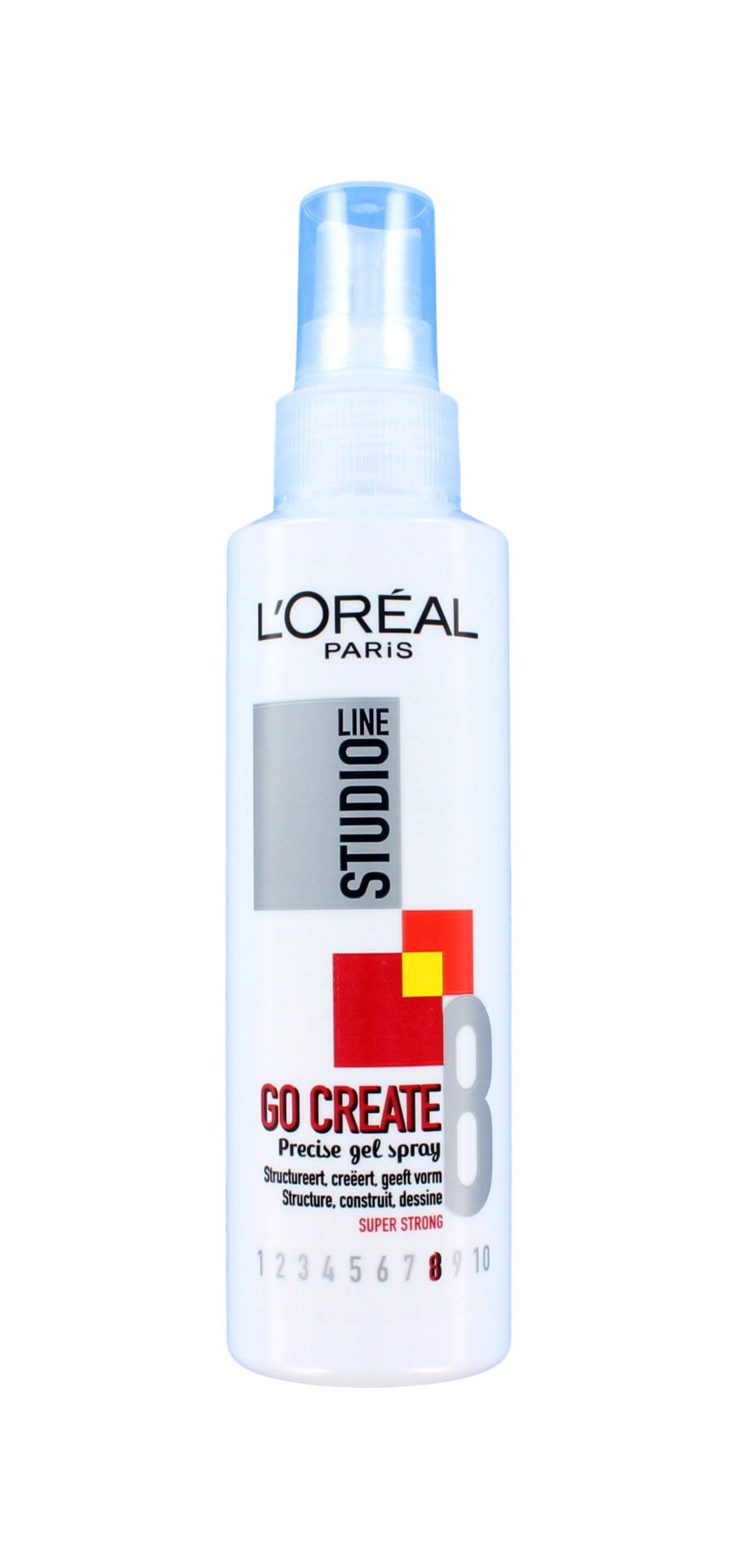 L'Oreal Studio Line Go Create Gel Spray Super Strong, 150 ml