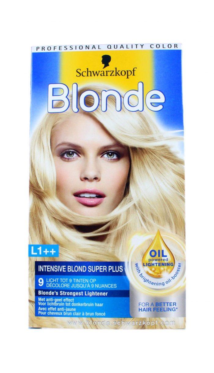 Schwarzkopf Blonde Haarverf L1++ Intensive Blond Super Plus