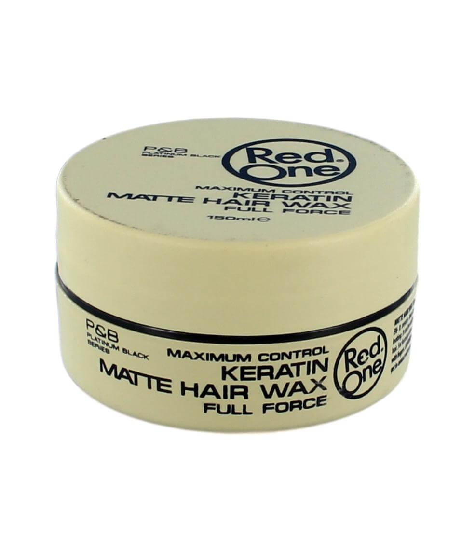 Red One Keratin Matte Hair Wax, 150 ml