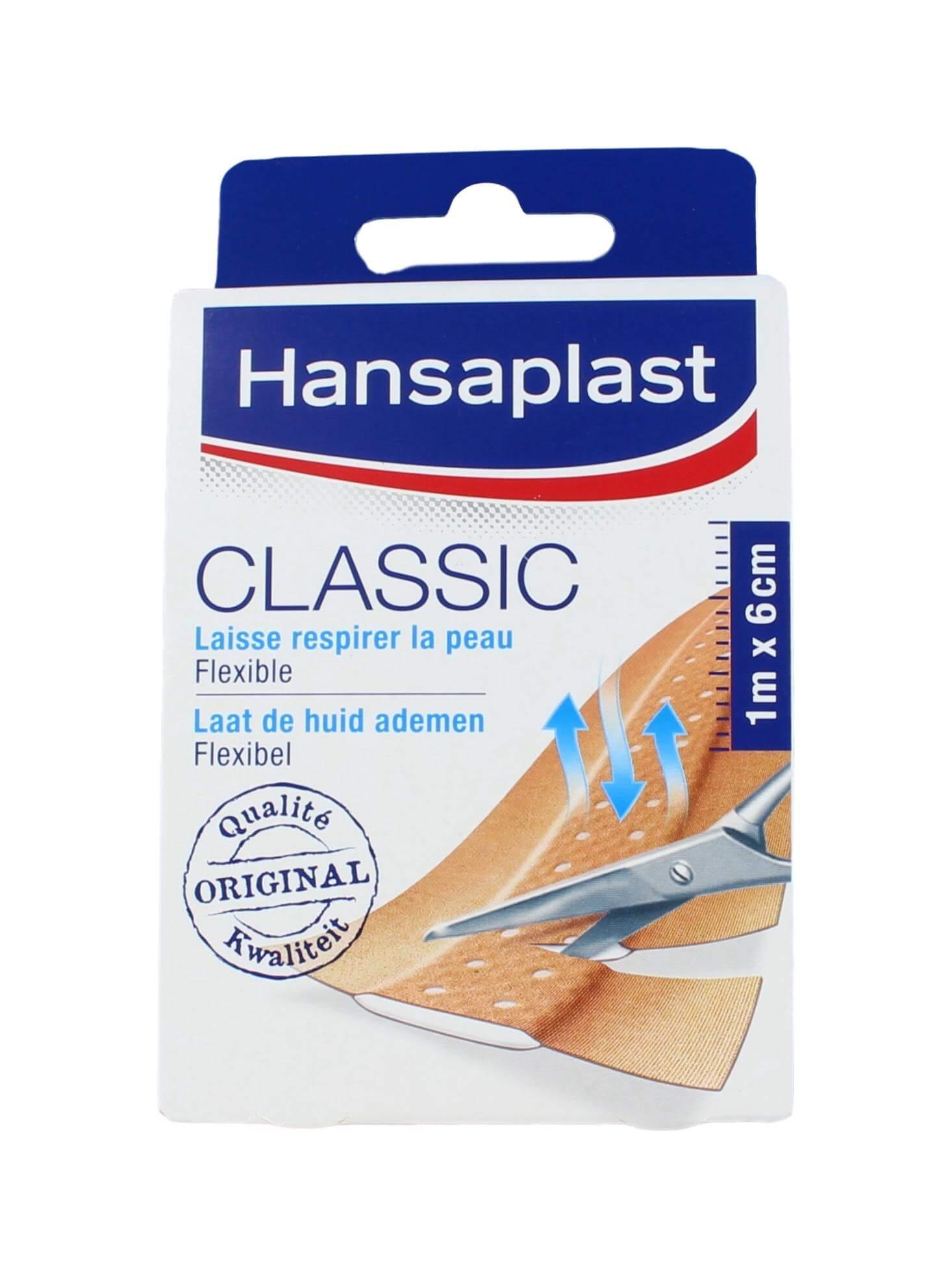Hansaplast Pleisters Classic 1m x 6cm