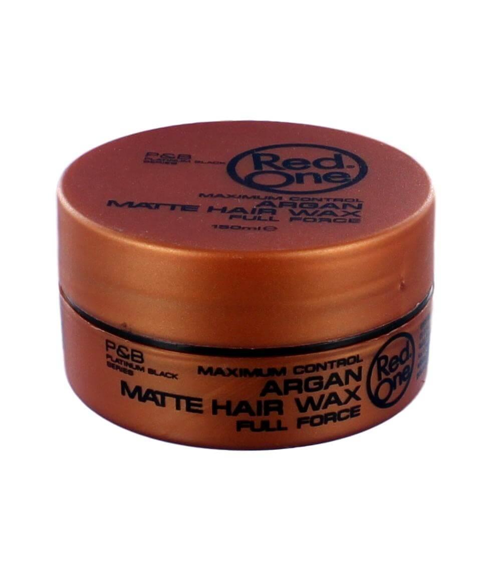 Red One Argan Matte Hair Wax, 150 ml