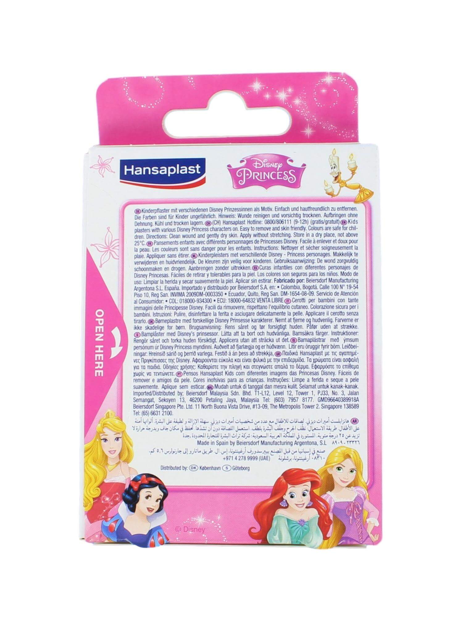 Hansaplast Pleisters Kids Princess, 20 Strips