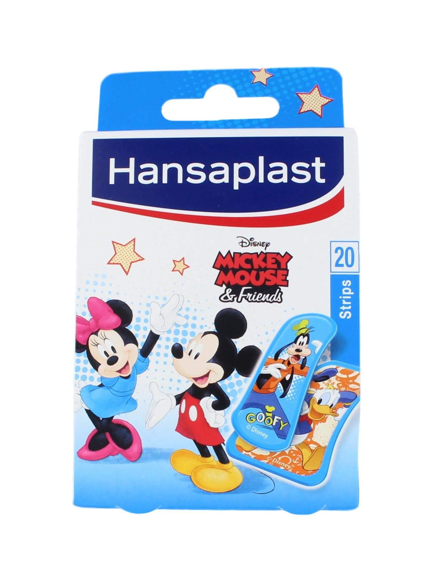 Hansaplast Pleisters Kids Micky Mousse, 20 Strips
