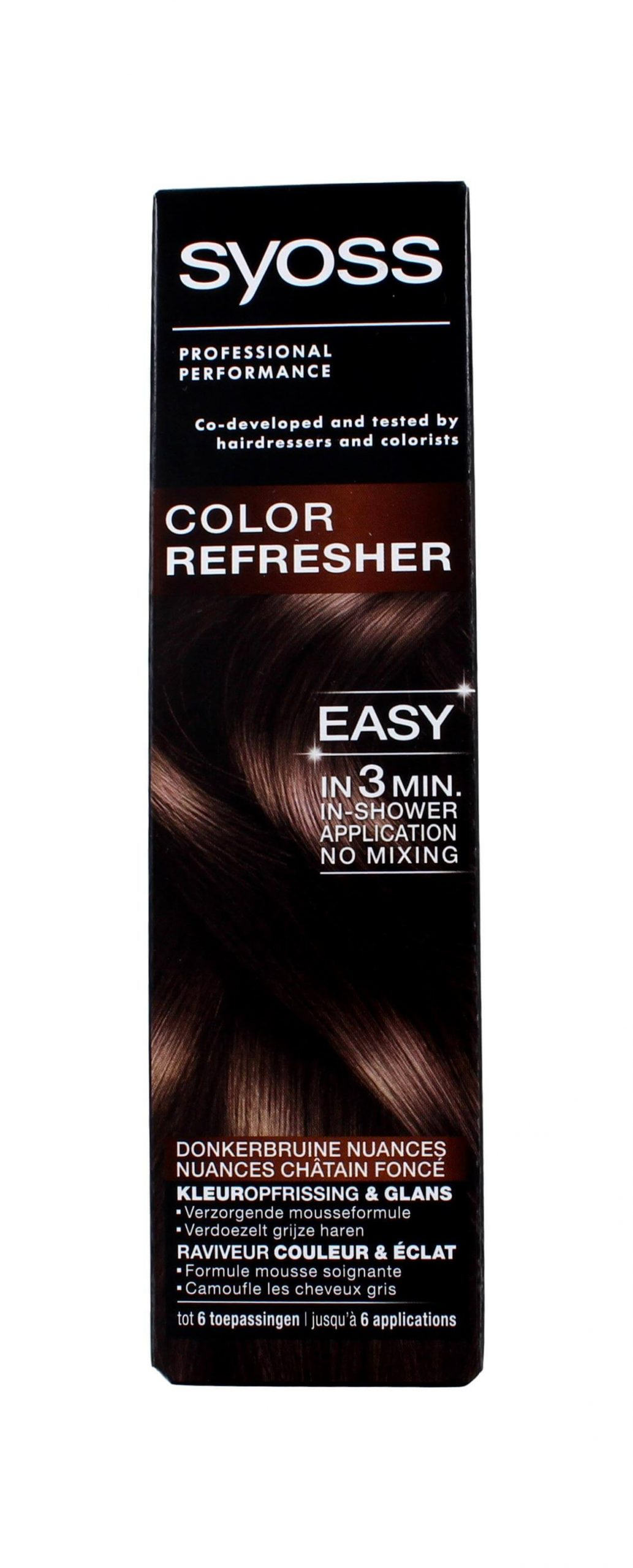 Syoss Color Refresher voor Donker Bruine Nuances