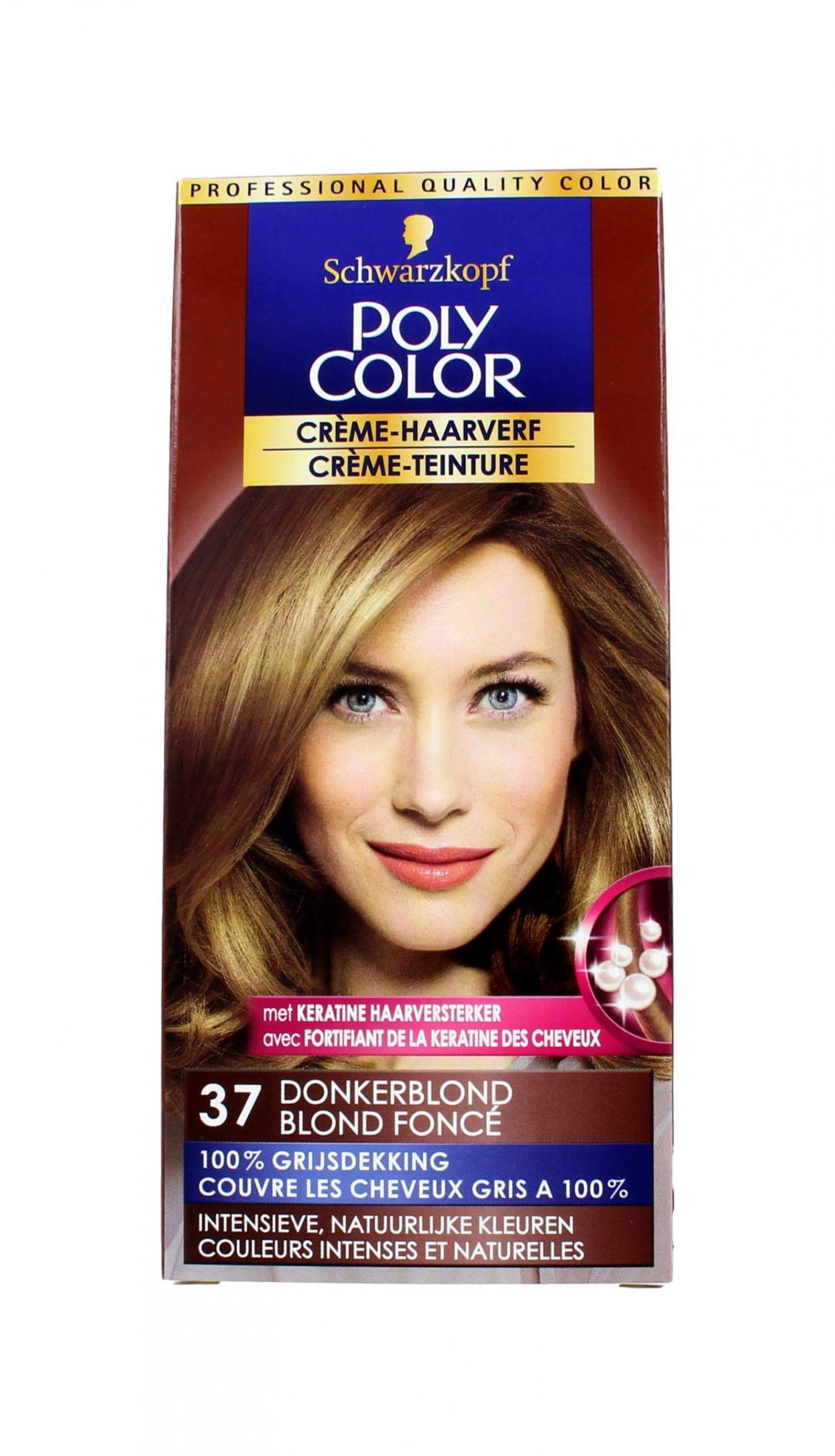 Poly Color Haarverf 37 Donkerblond