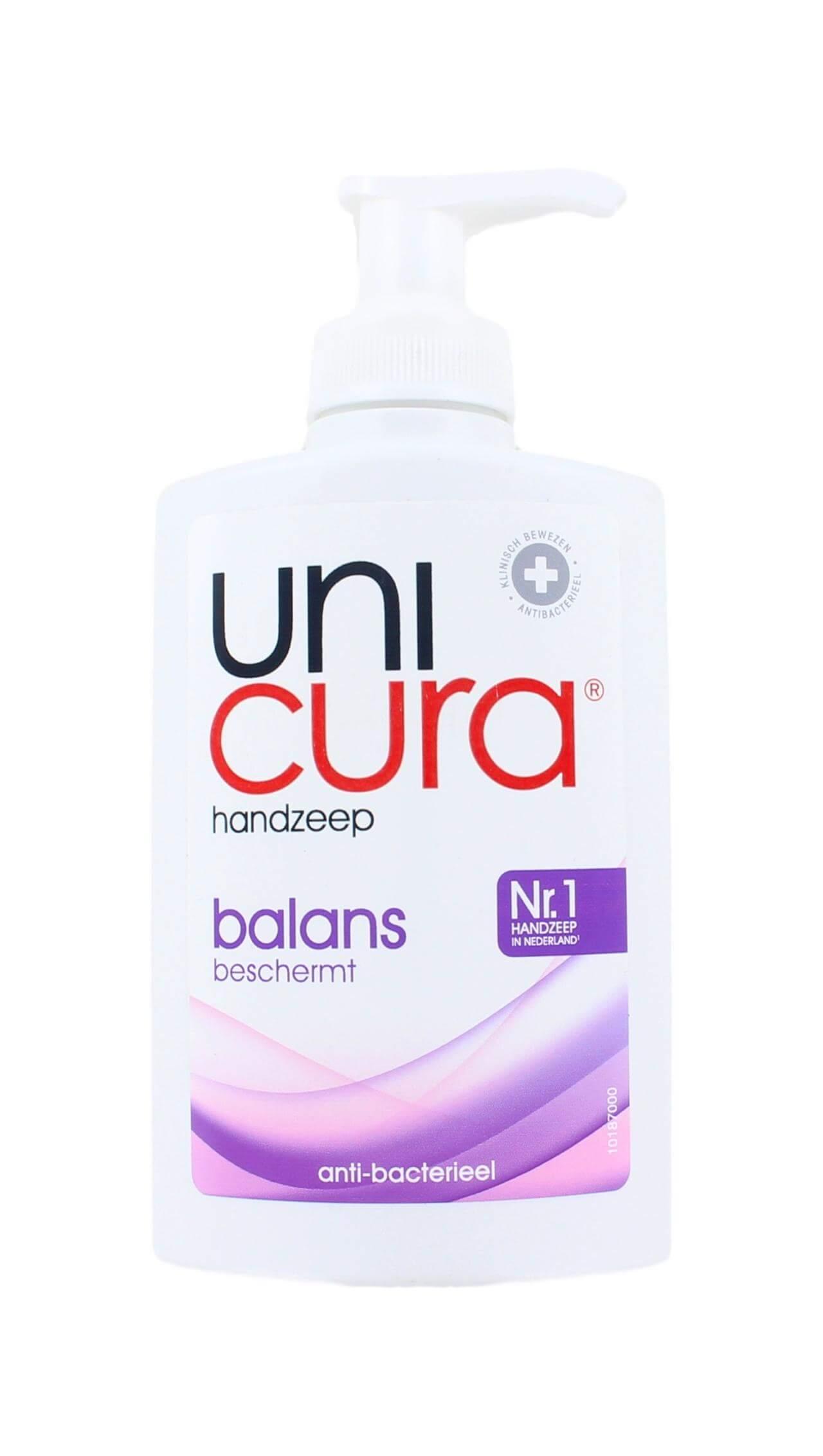 Unicura Handzeep Balans, 250 ml